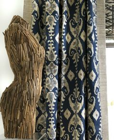 Jim Thompson fabric collection coming to South Africa! Jim Thompson House, Jim Thompson Fabric, Blue Brown, Blue And White, Ethnic Print, Sustainable Fabrics, Textiles, Fabric Wallpaper, Luxury Interior