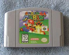 Nintendo 64 Game Super Mario 64