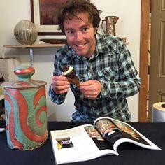 Brad Henry Brad Henry, Ceramic Artists, Button Down Shirt, Men Casual, Pottery, Mens Tops, Image, Ceramica, Dress Shirt