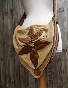 velvet woodland bag <3