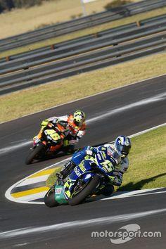 Sete Gibernau, Telefónica Movistar Honda and Valentino Rossi, Repsol Honda Team