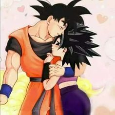 Goku and Caulifla Dragon Ball Z, Dragon Ball Image, Super Hero Games, Dbz Characters, Cute Couple Art, Japanese Anime Series, Amazing Spiderman, Kale, Jin Kazama