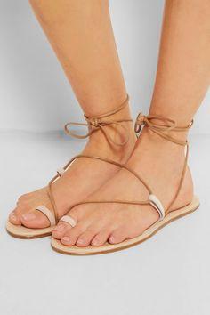 Chloé Suede sandals NET-A-PORTER.COM
