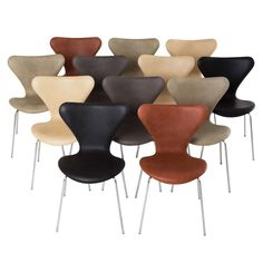 Shop dining room chairs and other antique and modern chairs and seating from the world's best furniture dealers. Arne Jacobsen, Dining Room Chairs, Modern Chairs, Cool Furniture, Mid-century Modern, Mid Century, Butterfly, Antiques, Vintage