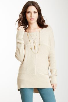 Bordeaux Cross Tunic Sweater..because I have an obsession with winter white!!
