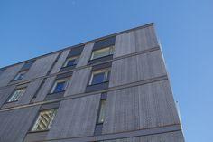 Graphic Concrete reference: Niittysillankulma 2 Housing
