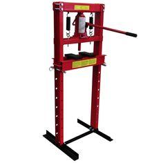 12 - tonelada Pesada Prensa Hidraurica del suelo para sus trabajos de prensa in Motor: recambios y accesorios, Taller: equipos y herramientas, Taller: equipos y consumibles, Prensas de taller | eBay