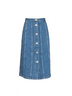 A-line denim skirt | Sonia Rykiel | MATCHESFASHION.COM UK ...