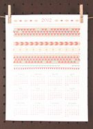DIY Free printables: calendar, invites, recipe cards, cupcake flags... and all cute!