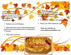 Healthy homemade diabetic friendly apple pie!  Don't feel like baking this pie? We'll bake it for you! Give us a call and we'll be happy to bake it for you: 610.966.7001  www.pathwaysholistic.com   This recipe uses Lakonto sugar substitute: Non GMO Dairy Free Soy Free Gluten Free Vegetarian - For more information about Lakonto: http://bodyecology.com/sugar-substitute-lakanto-sweetener.html#sthash.2IqCplXY.3xjwvtmD.dpuf — at Pathways Holistic Center 4833 Chestnut St. Emmaus, PA 18049.
