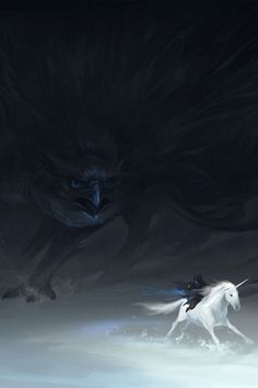 The mystical version of Seahawks versus Broncos. The only time I won't root for the unicorn, lol.