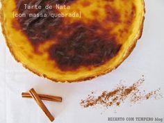 A vida de Nessy: Tarte de Nata com massa quebrada by Recanto com Te...