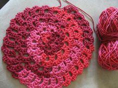 Flower Spiral Motif - Meladora's Free Crochet Patterns & Tutorials.