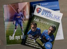 Allegro // Sandefjord Fotball // Magazine layout, cover photo, Art Direction of feature photo and layout.