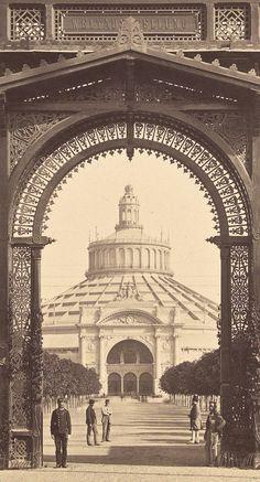 Vienna, the 1873 World Exhibition. Main entrance