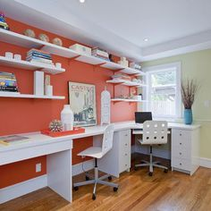 Home Office Craft Room Design, Pictures, Remodel, Decor And Ideas   Page 10