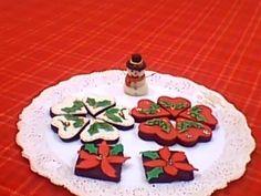 Dulces navideños decorados con fondant de masmelow
