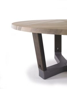 Base Round - basic furnishing. A robust, no-nonsense table made of #solidwood