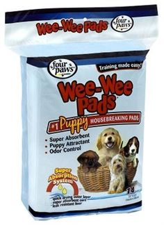 Four Paws Wee-Wee Absorbent Pads for Dogs 14 count Discount Pet Supplies, Online Pet Supplies, House Breaking A Puppy, Pet Supermarket, Puppy Find, Puppy Pads, Online Pet Store, Pet Supply Stores, Dog Training Pads