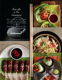 'Asian Cool' Recipes Campaign | Client: Kikkoman