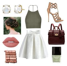 Sass by han28shaffer on Polyvore featuring polyvore, fashion, style, Topshop, Chicwish, Giuseppe Zanotti, Mulberry, Irene Neuwirth, Bobbi Brown Cosmetics, Lime Crime, Butter London and clothing