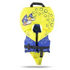 Baby Galinha: Desenvolvido especialmente para crianças. Permite movimentos livres sem risco de furar ou sair dos braços.   ATENÇÃO: Esse equipamento exige a supervisão de um adulto. Nunca deixe uma criança sozinha, perto ou dentro da água.