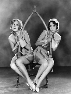 Gwen Lee and Dorothy Sebastian