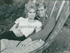 1961 Parrish Original Press Photo Troy Donahue Connie Stevens | eBay