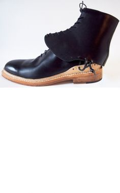 Makoto Taguhi Whole Cut Shoe Boot $1239.05