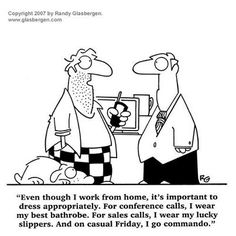 funny work at home dad answers his friend question Get good help in building your list and increase your earnings. Funny Cartoons About Work, Work Cartoons, Funny Work, Home Office Expenses, Surveys For Cash, Paid Surveys, Today Cartoon, Questions For Friends, Ivy Style