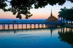 Lago Kandawgyi (Yangon, Myanmar)