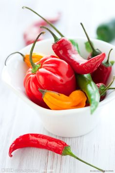 This is Me ~ I have a love for Peppers to decorate my kitchen décor. I love them also if they're not TO HOT.