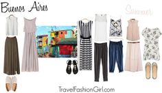For this Argentina Travel Packing List in SUMMER learn what to wear in Buenos Aires from two locals that have stylish travel fashion tips for you! Learn how to pack a 10 piece capsule travel wardrobe for Argentina's capital year-round!