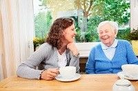 Tough Conversations - You need to know when the time is right to have this conversation with your #aging parents. @aplaceformom article provides the tips for having this talk!