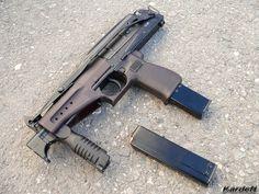 """submachine gun SR-2 """"Veresk"""" (9 mm caliber), cartridge 9x21 SP-10 SP-11… Find our speedloader now!  http://www.amazon.com/shops/raeind"""