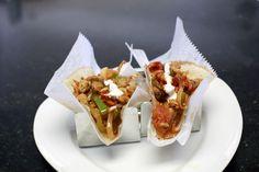 "Achari ""tacos"" at Indique  -  Mustard, fenugreek, red chili,""Kalaunji"", red chili & vinegar!"