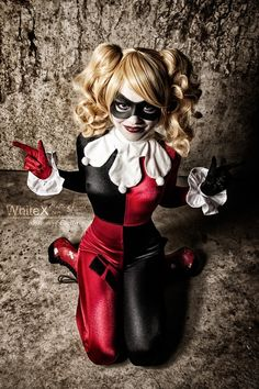 PEW PEW PEW! Harley Quinn #cosplay by Blossom-of-Faeliv... WhiteX Photography