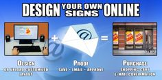 We have implemented our Sign Design Center so you can conveniently design, preview and order custom signs online without worry or hassle. We offer traffic and parking Control Signs, OSHA Signs, A.D.A. Signs, Engraved Signs, LED Signs, Real Estate Signs, Real Estate Rider Signs, Custom Aluminum Signs, Magnetic Signs, Corrugated Plastic Signs, Name Tags and Name Badge Signs, and License Plates.  http://www.signsnframes.com/signs