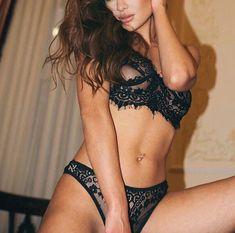 Spectacular brunette