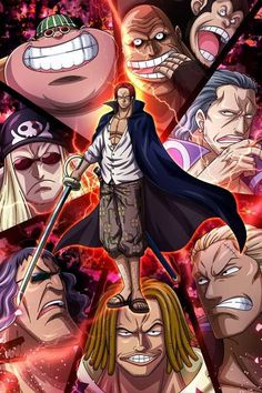 One piece / akagami no shanks One Piece Series, One Piece Chapter, One Piece World, One Piece Ace, Manga Anime, Anime One, Top Anime Series, Luffy Gear 4, One Piece Wallpaper Iphone