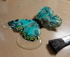 Resin Crafts: Envirotex Lite As A Glaze - The Feather Butterly