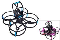 Usmile XJB75 75mm Micro Carbon Fiber Quadcopter Frame Kit with Programable LED Tail light Buzzer for Blade inductrix Tiny Whoop frame FPV racing Support for 1104 7500KV Motor Piko BLX PB *** Click image to review more details.(It is Amazon affiliate link) #commentplease