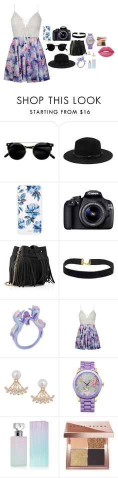 """""""Photography day"""" by jessica-2810 ❤ liked on Polyvore featuring Forever 21, Sonix, Eos, Whistles, Ally Fashion, Humble Chic, Picard & Cie, Calvin Klein, Bobbi Brown Cosmetics and Lime Crime"""