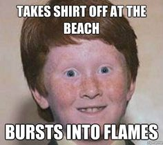 blasted gingers