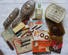 vintage hair products | Vintage hair products. Because you're worth it. | Flickr - Photo ...
