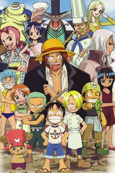 One Piece Crew Past Self! They should make a game like Naruto Storm Generations! Where you can play as the One Crew Past self!