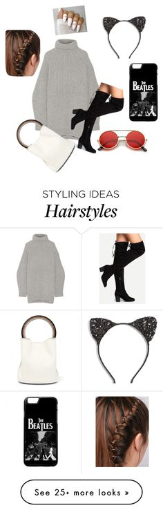 """Untitled #66"" by hellenakinyi on Polyvore featuring Acne Studios, Marni, Cara and ZeroUV"