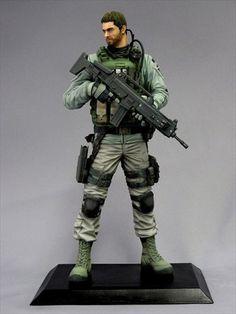 Chris Redfield Creator's Model Resident Evil 6