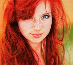 Red On Red Girl | August 28, 2012 · by jonnywp · in Art / Design , Art works , Feature