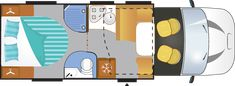 One of the best-selling layouts in the Chausson Titanium range, the Titanium 628 combines practicality and comfort in a compact space under 7 metres. This layout is ideal for couples, with a wide island bed that can be easily adjusted. Camping Lights, Car Lights, Motorhome Hire, Hideaway Bed, Thing 1, Air Conditioning System, Car Hacks, Camping Car, Water Systems